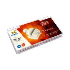 """Kit de Bráquetes 01 caso Prescrição Edgewise - Ceramic .022"""" - Gancho Can./Prés"""