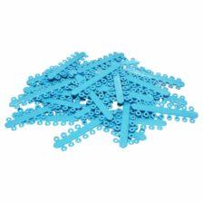 """Elástico Separador Modular Azul Claro - Ø 5/32"""" = 4.0mm"""