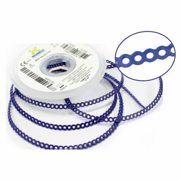 Elástico Corrente Curto Azul Marinho - 1