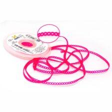 Elástico Corrente Curto Pink Cristal - 1