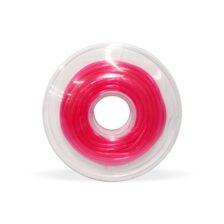 Tubo de proteção plástico Pink Cristal - Ø0