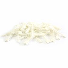 Elástico Ligadura Modular Branco Renda